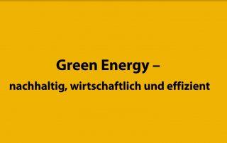 Green Energy Logistik